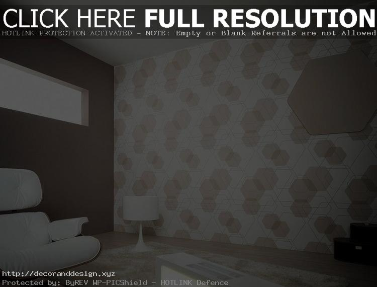 80 Living Room Wallpaper Ideas - Cool, Modern Patterns ~ Tapeten Modern
