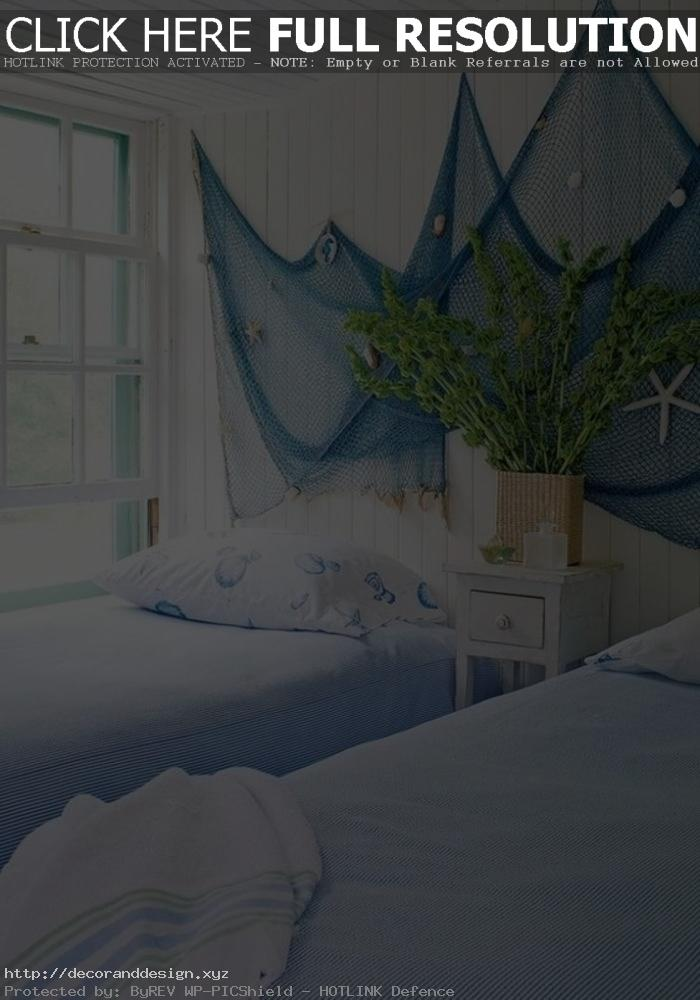 Maritime Decoration: 79 Decoration Ideas With Sea Flair ~ Maritime Wanddeko