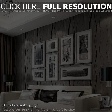 Wholesale 3D Wallpaper Classic Stripe Design Wall Paper ~ Tapeten Modern